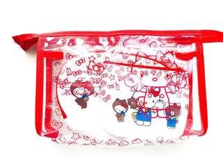 Sanrio pouch set