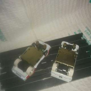 2 Tyco pro  H. O. Scale slot car's in mint condition 10