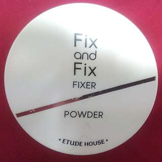Etude House Fix and Fix Fixer Powder