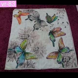 Butterfly hijab square