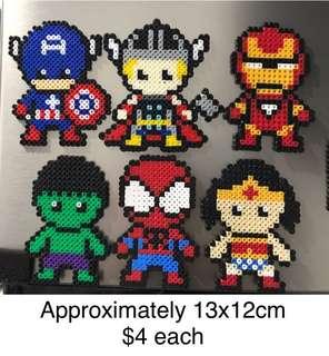 Beads Art - Superhero