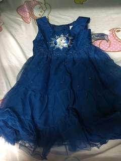 全新Frozen Elsa裙 (購自香港迪士尼)