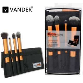 [SPO213]4pcs RT high-end make-up brushes cosmetics tools foundation