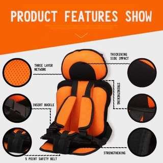 Toddler car seat (Red)