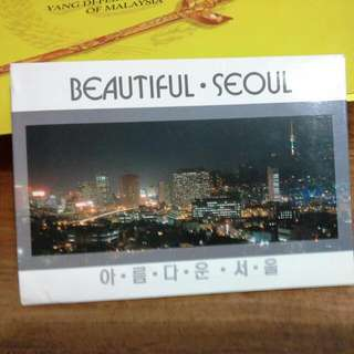 Seoul South Korea Postcard Set Post Cards