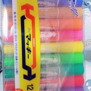 zebra 油性筆