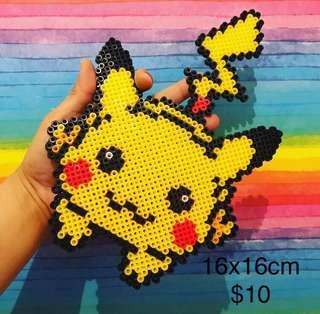 Beads Art Pikachu