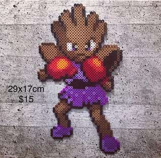 Beads Art Hitmonchan