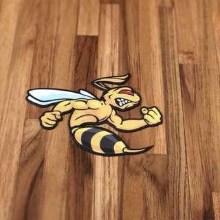 Vespa 哈雷 蜜蜂 磁鐵貼