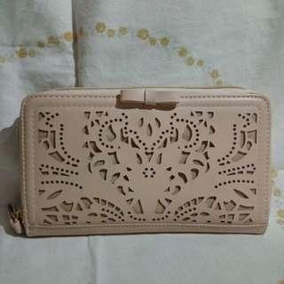 Cream Beige Wallet
