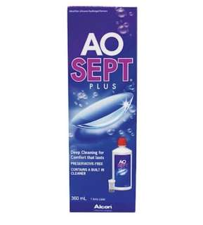 Brand New AOsept Plus Contact Lens Solution