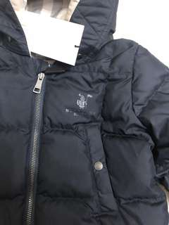 Burberry down filled puffer suit