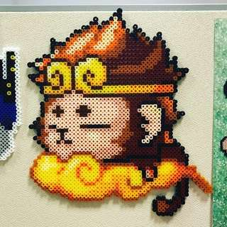 Beads Art - Monkey King, Sun Wukong
