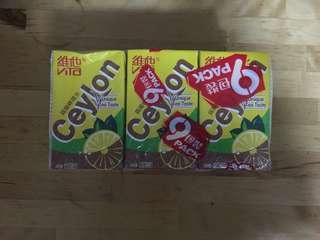 New 維他 錫蘭 檸檬茶 9 包 Lemon Tea