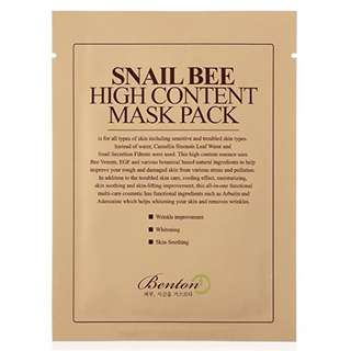 [BENTON] Snail Bee High Content Mask