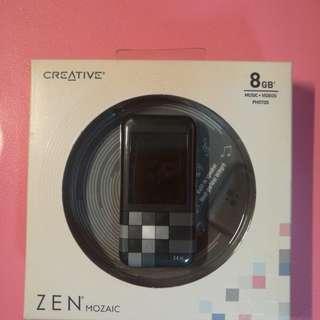 全新Creative Zen Mozaic 8GB MP4 Player