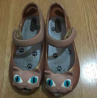 Mini Melissa shimmery Cat US Size 10