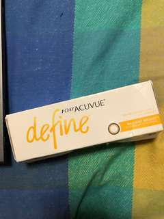 Acuvue define in radiant bright