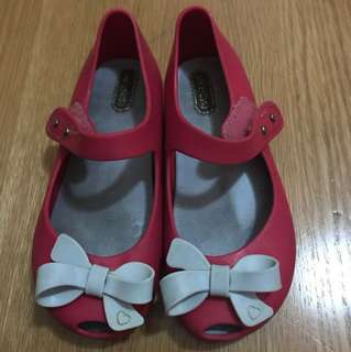 Mini Melissa Ribbon Shoes US size 10
