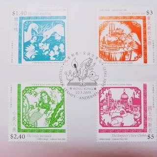 2005年安徒生童話郵票