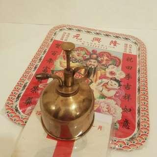 罕有昔日 :香港製造銅嘖水壺 (歲月裝置收藏品)