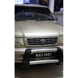 2002 Well Maintained Toyota Unser 1.8 (Manual)