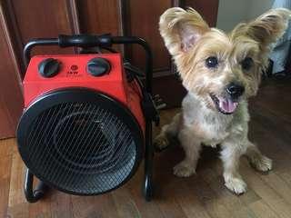 Industrial heater fan (portable)