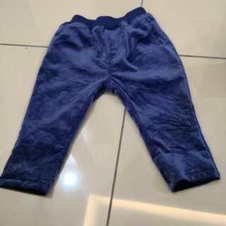 Muji Blue Pant (12-18m)