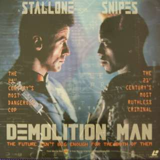 Laser Disc Movie - M13 Demolition Man
