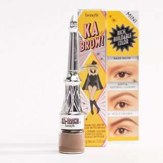 Benefit Ka-Brow Eyebrow Cream Gel Colour Mini In 03 Medium