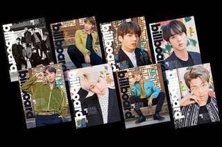 [ON HAND] BTS on Billboard Magazine (Posters)