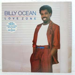 Reserved: Billy Ocean - Love Zone  Vinyl Record