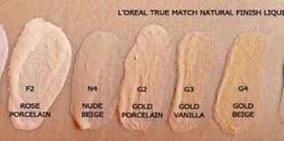 Loreal True Match Foundation F1