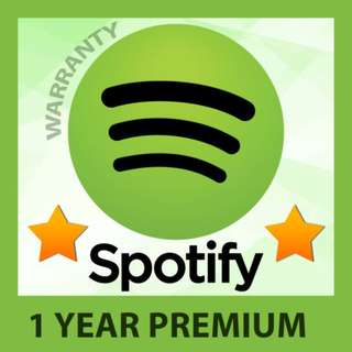 1 year Spotify Premium and Netflix Premium