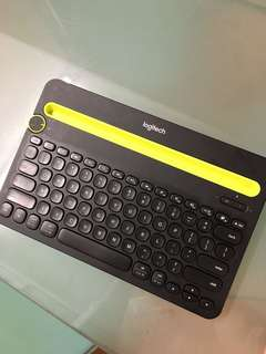 logitech 藍牙鍵盤 bluetooth keyboard