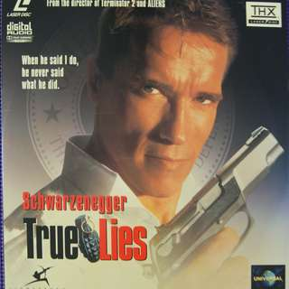 Laser Disc Movie - M18  True Lies