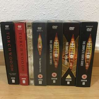 Doctor Who & Torchwood 4 complete