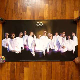 EXO- Official Posters (Group / Single)