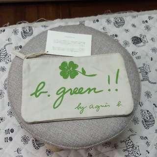 Agnes b agnesb 筆袋 全新 白色