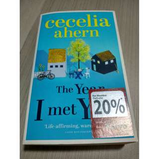 Cecilia Ahern-- The Year I Met You