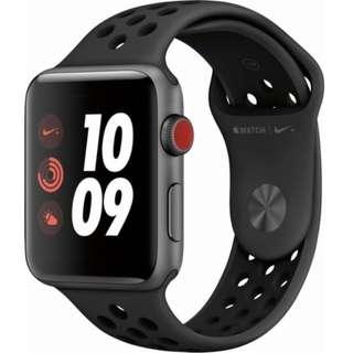 [BNIB] Apple Watch Series 3 Nike Version GPS+Cellular 42mm (Sealed)