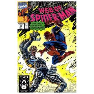 2x WEB OF SPIDER-MAN LOT (MARVEL COMICS)