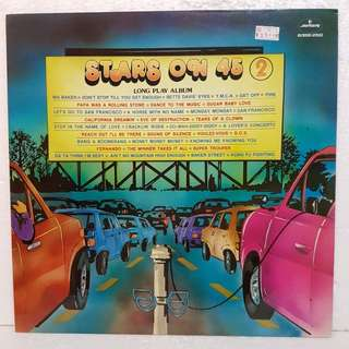 Reserved: Stars On 45 Vol 2 Vinyl Record