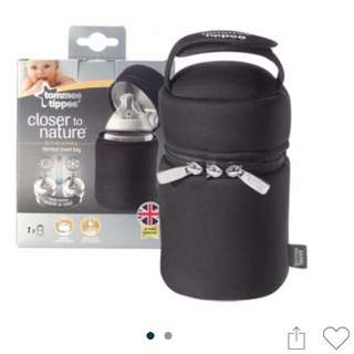 Tommee Tippee insulated bag bottle carrier