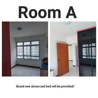 Rooms for rent in Yishun