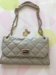 DKNY purse in cream color