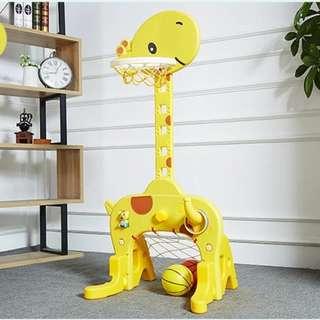 Giraffe design basket board