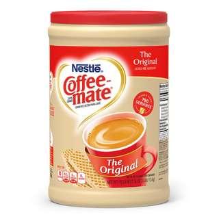 好市多雀巢咖啡伴侶奶精 6罐