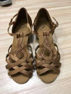 女童拉丁舞鞋 size 30
