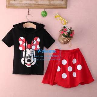 Ready Stock Mickey Mouse Sets 2件套